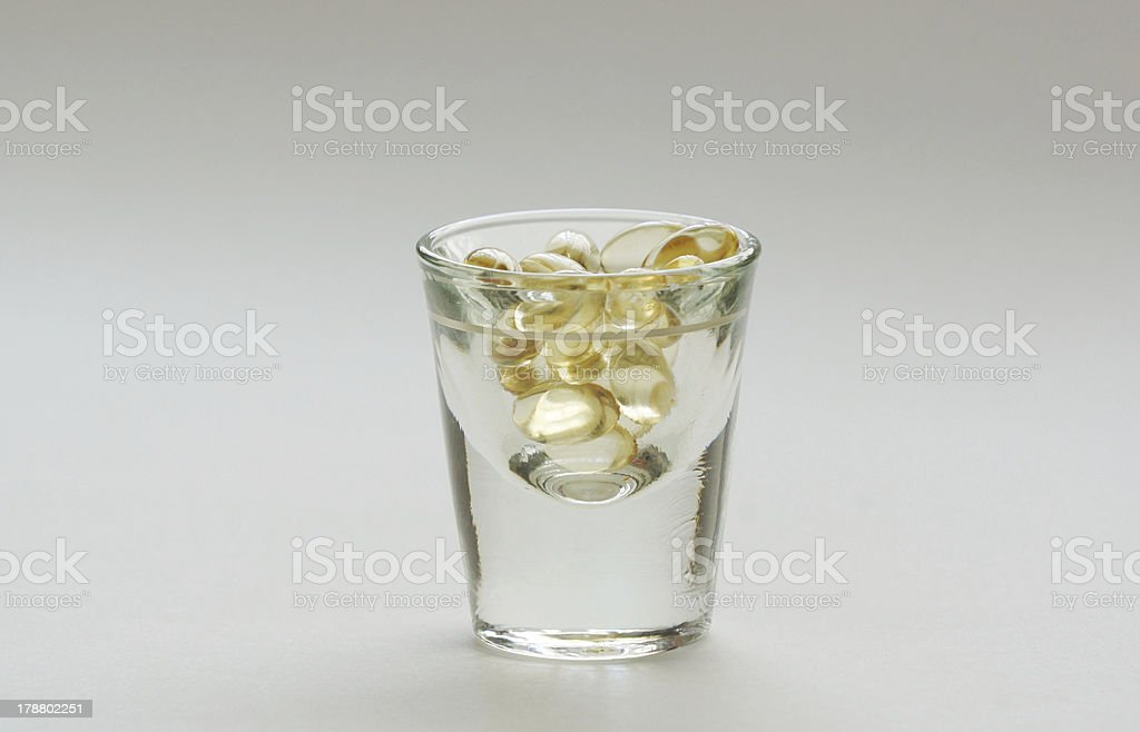 Toast to your health royalty-free stock photo
