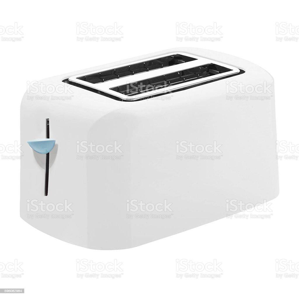 Toaster isolated stock photo