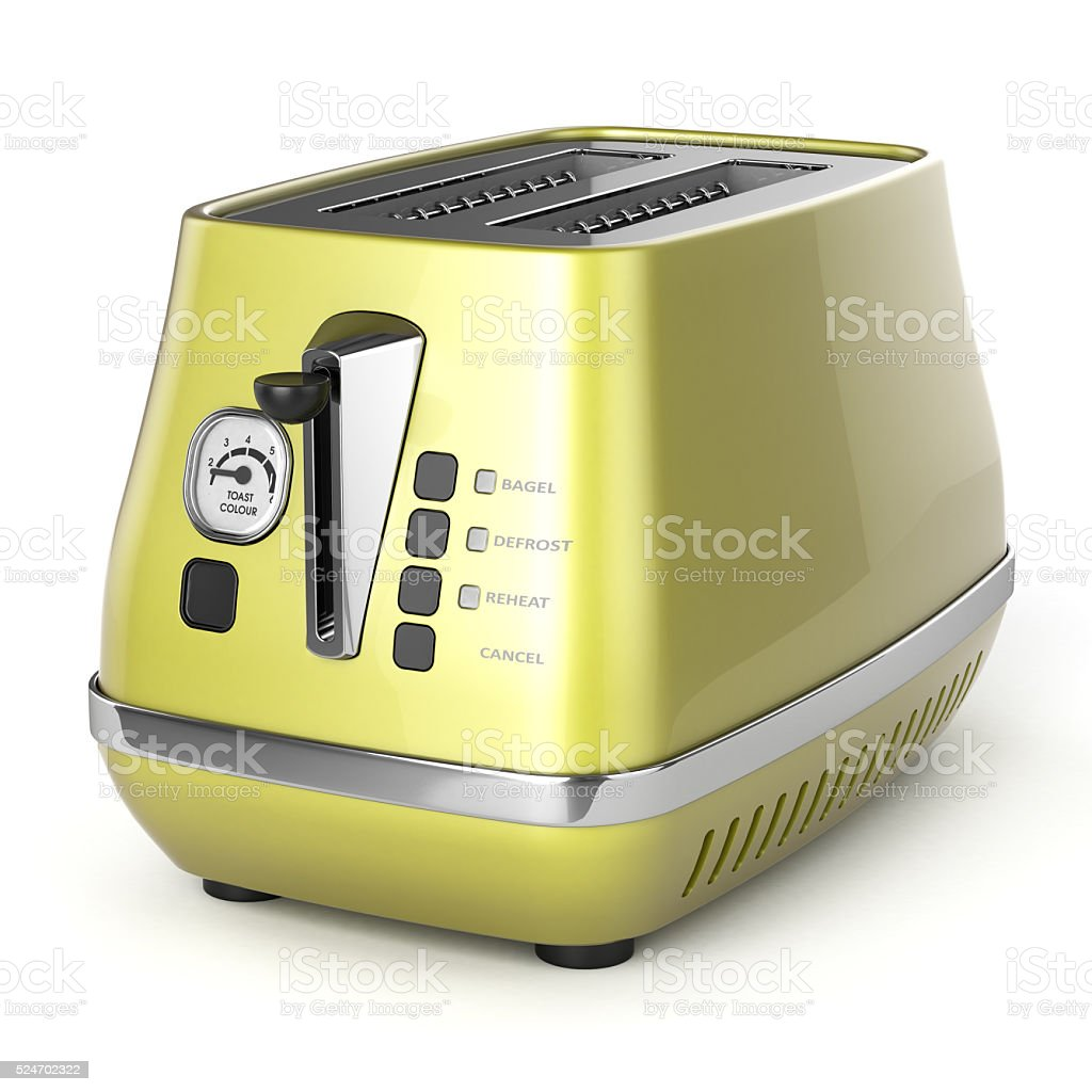 toaster retro stock photo