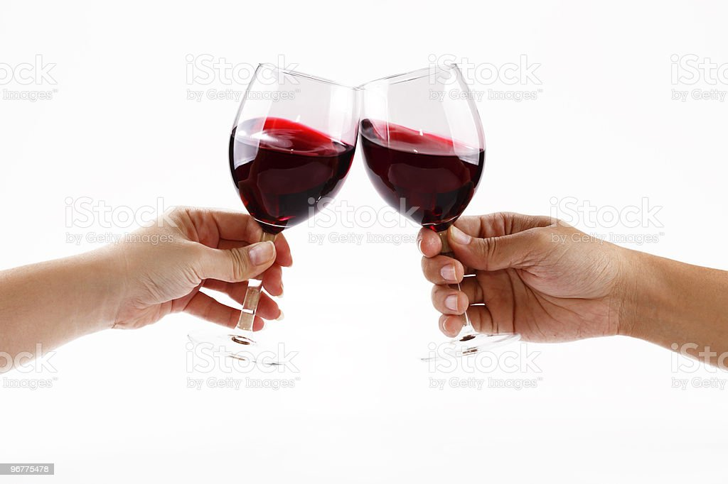 Toasting royalty-free stock photo