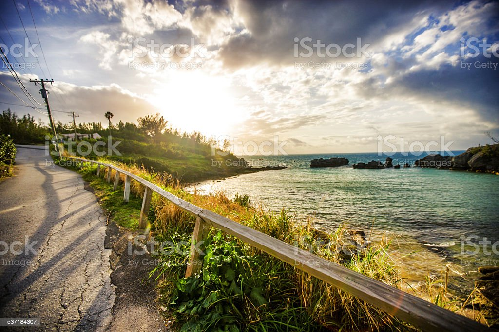 Tobacco Bay, Bermuda stock photo