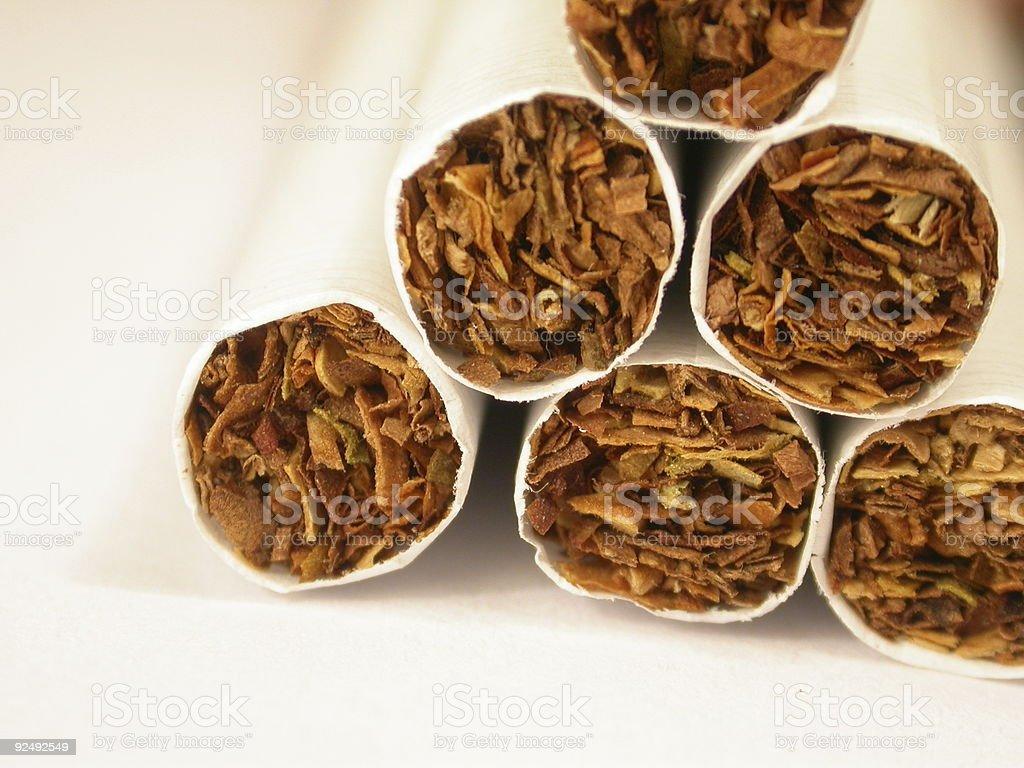 Tobacco cigarretes royalty-free stock photo