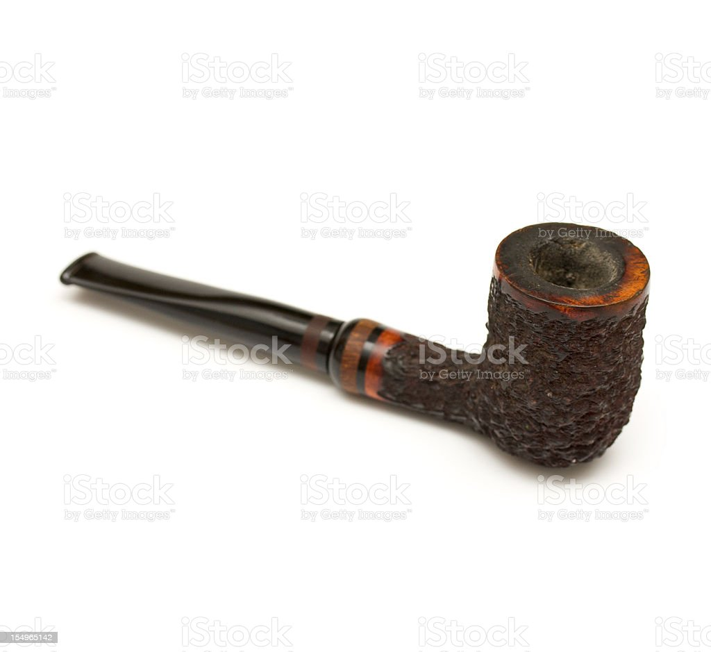 Tobacco pipe royalty-free stock photo