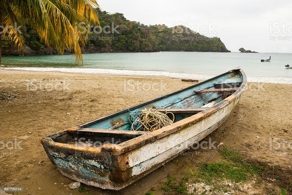 Tobago beach stock photo