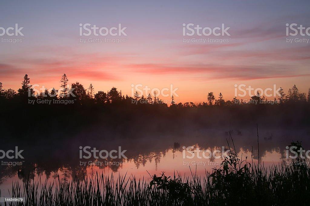 Tobermory Sunrise royalty-free stock photo