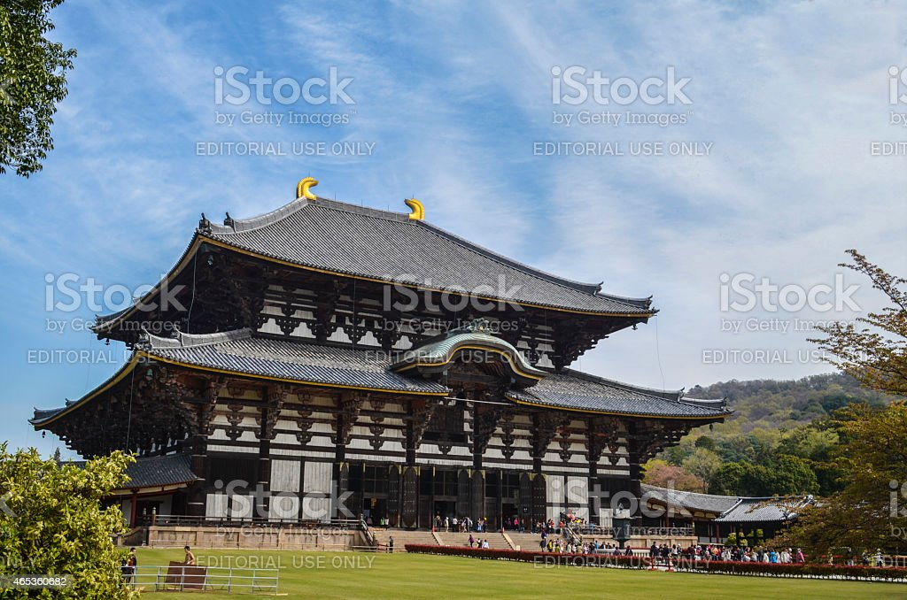 Todai-ji stock photo