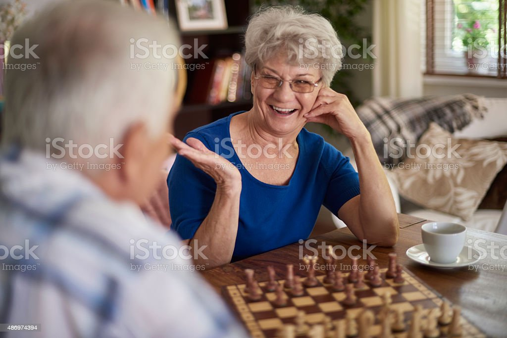 Today is a good day so I have won stock photo