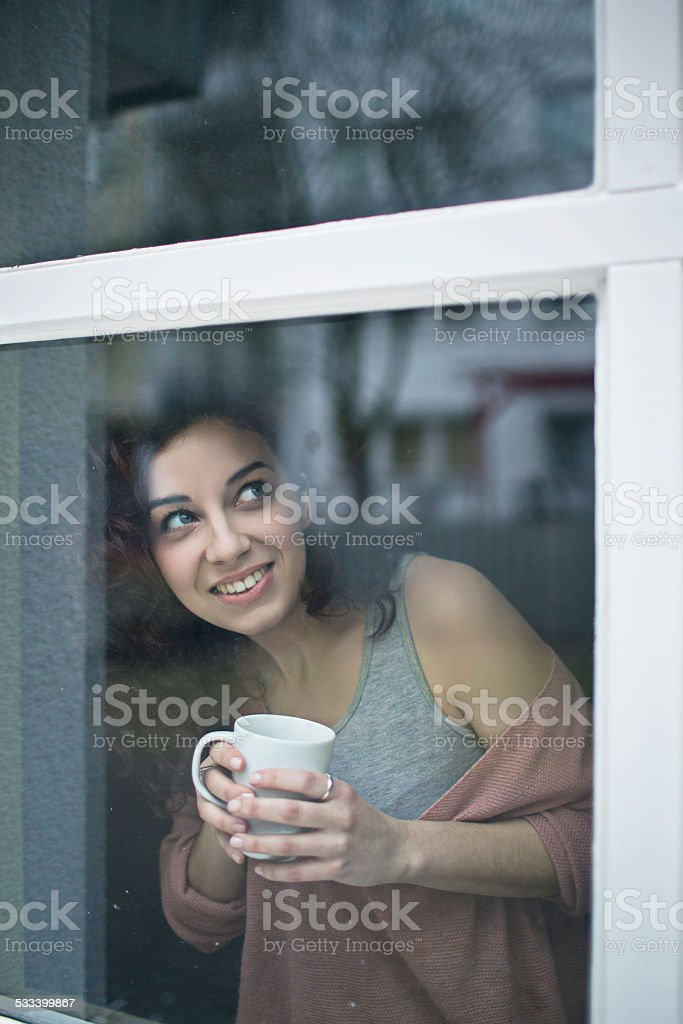 Today is going to be a good day ! stock photo