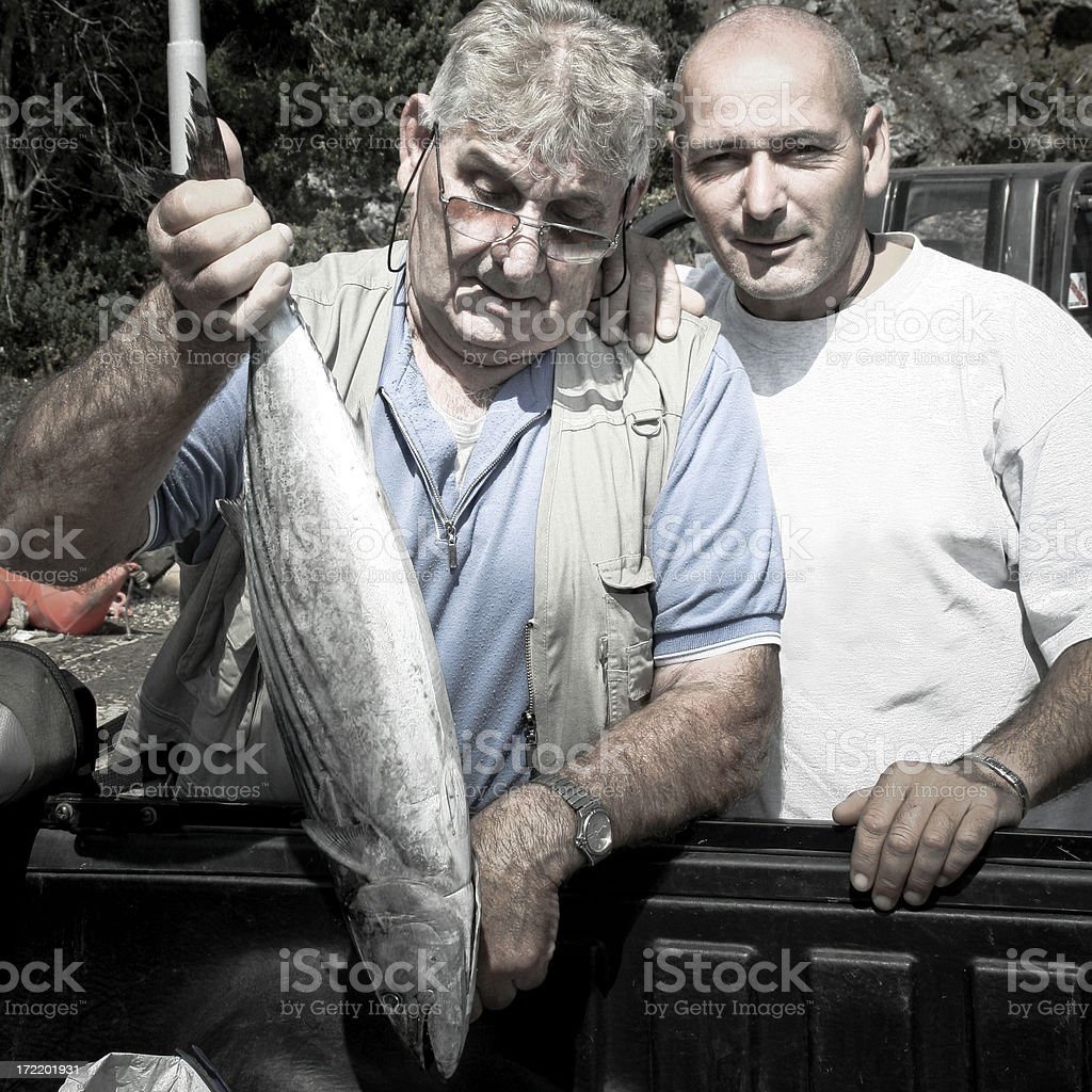 Today, it's Fish for Dinner. royalty-free stock photo