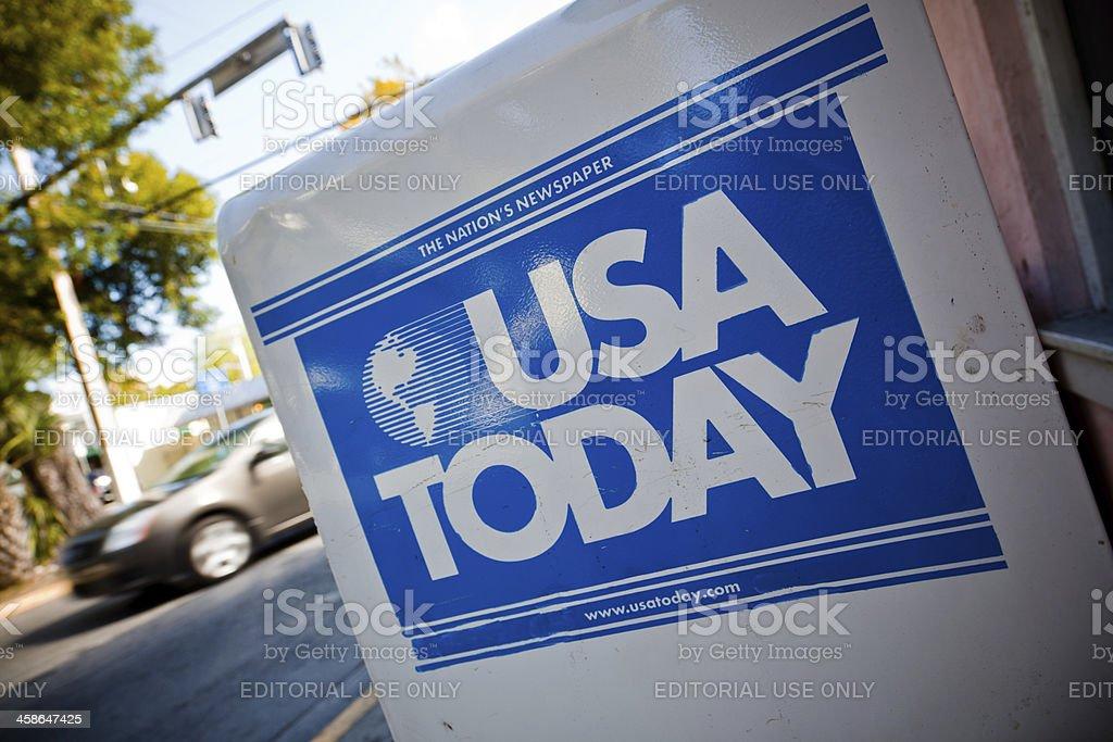 USA Today royalty-free stock photo