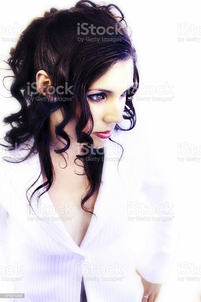 Today's Business Woman royalty-free stock photo
