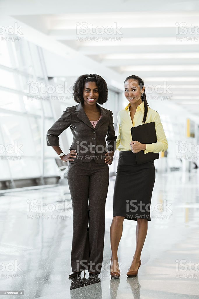 Today's leaders in a workforce stock photo