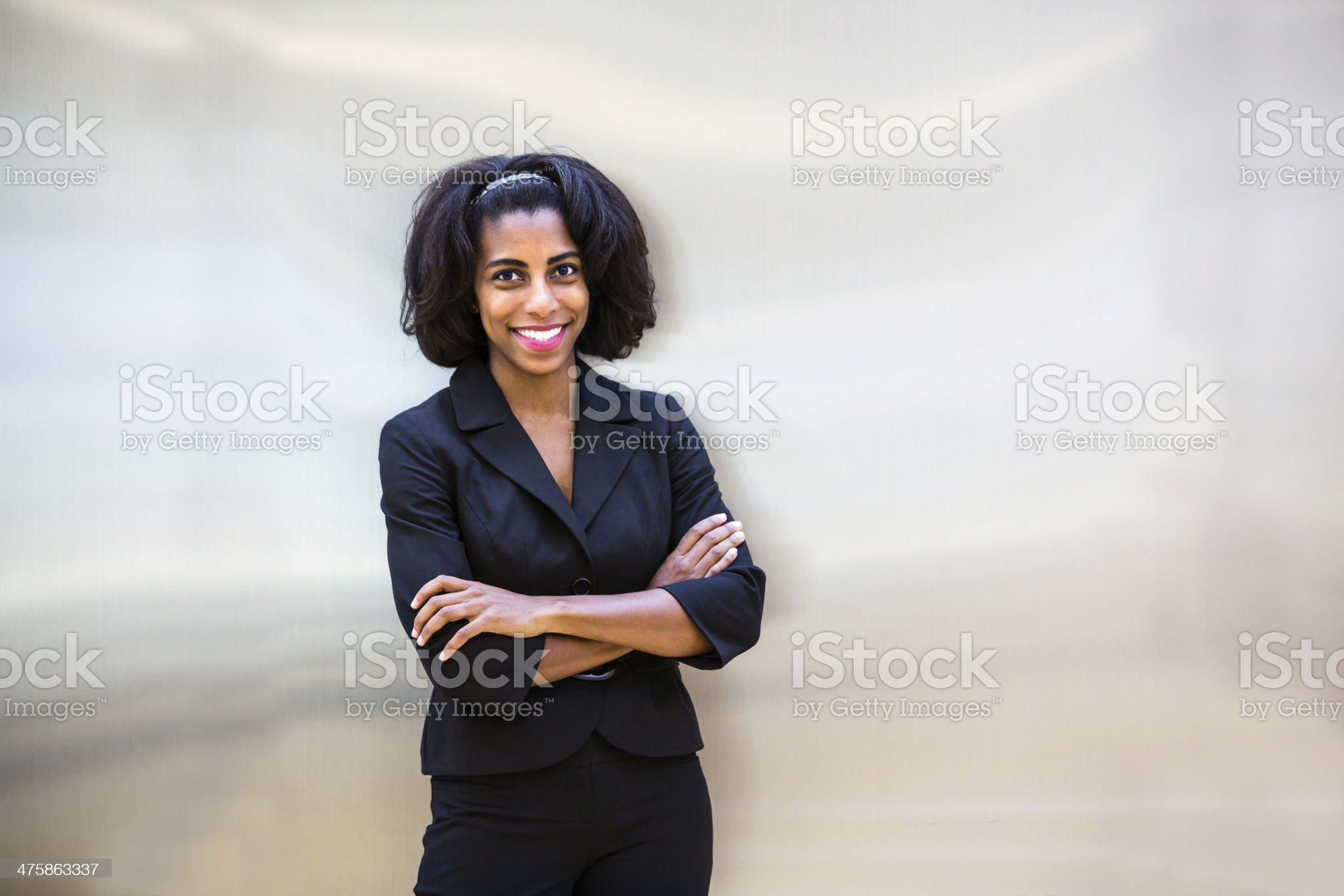 Today's leaders in a workforce royalty-free stock photo
