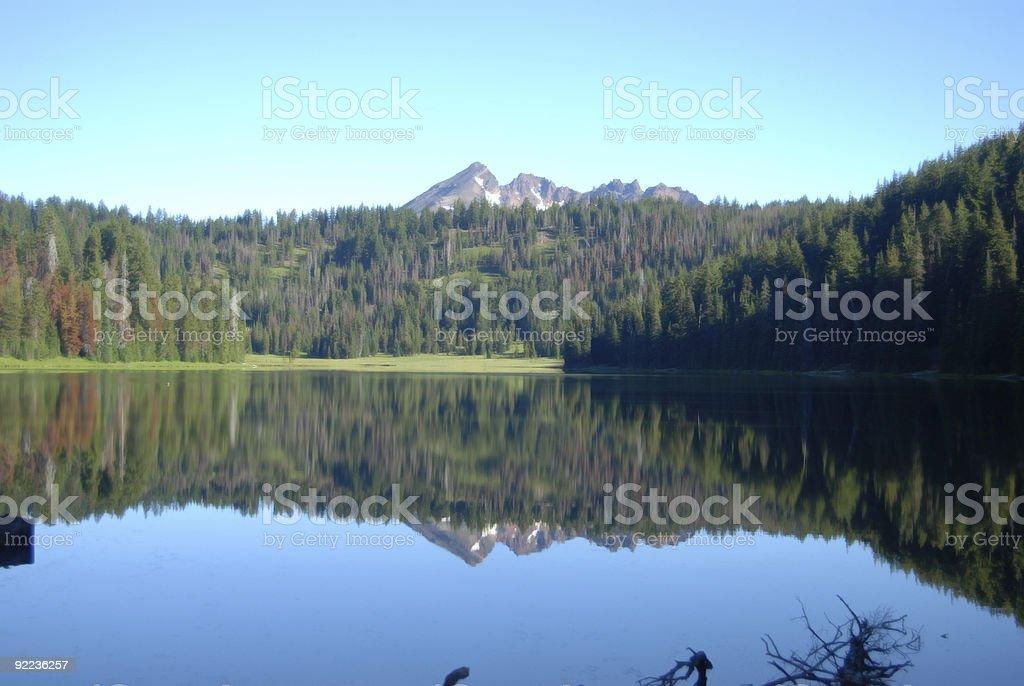 Todd Lake stock photo