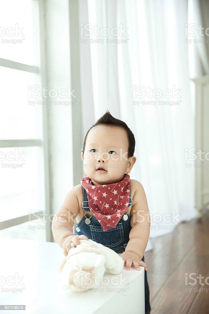 Toddler  baby stock photo