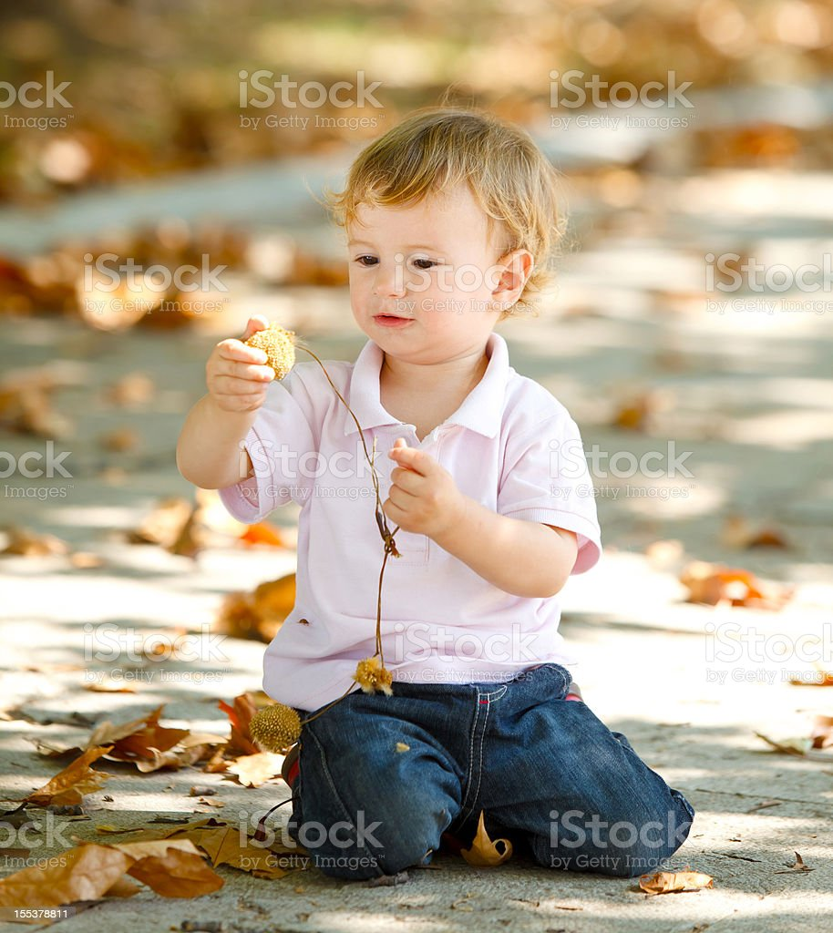 Toddler royalty-free stock photo