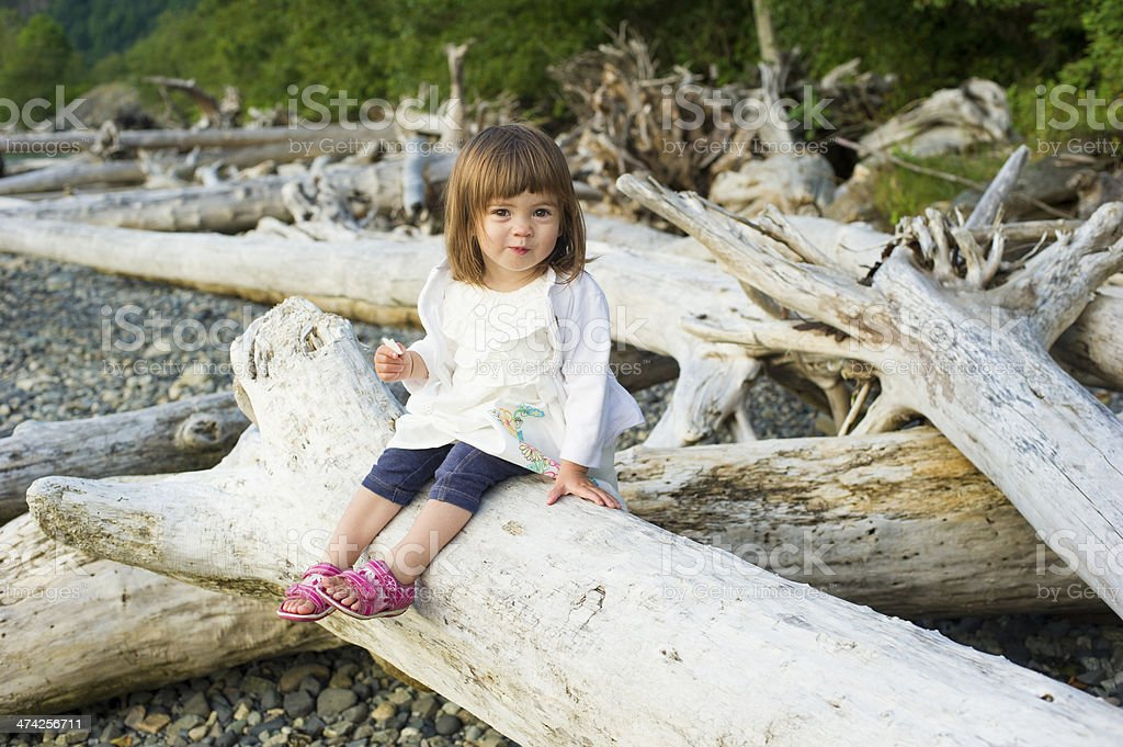 Toddler royalty-free stock photo