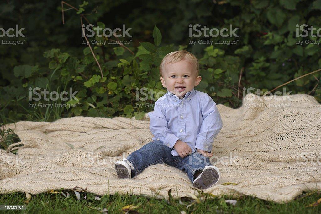 Toddler Posing royalty-free stock photo