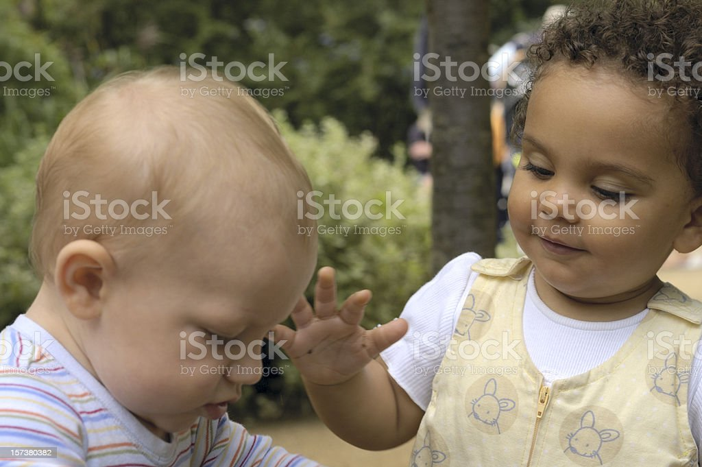 Toddlers royalty-free stock photo