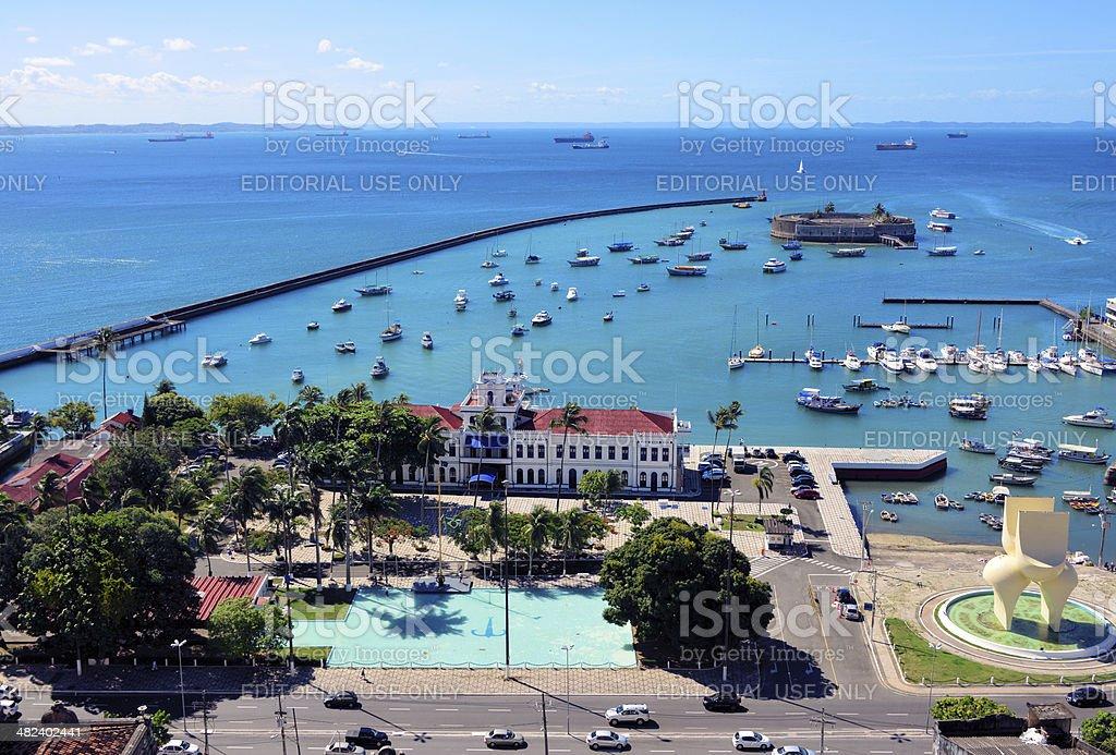 Todos os Santos Bay, Bahia, Brazil stock photo