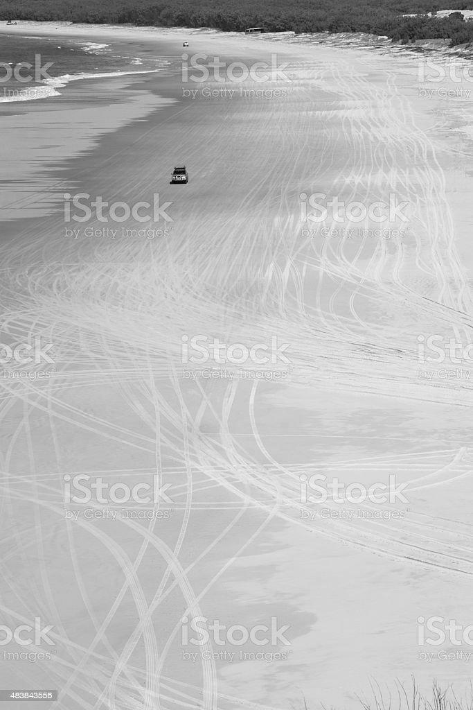 todoterrenos playa zbiór zdjęć royalty-free