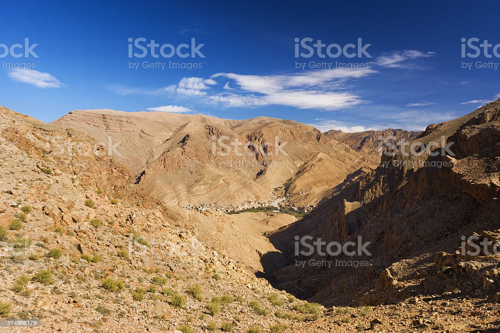 Todra gorge royalty-free stock photo