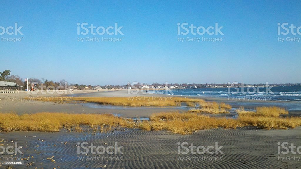 Tod's Point, Old Greenwich, CT stock photo