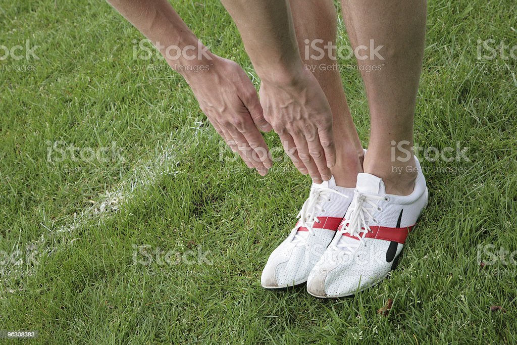 Toe Touch royalty-free stock photo