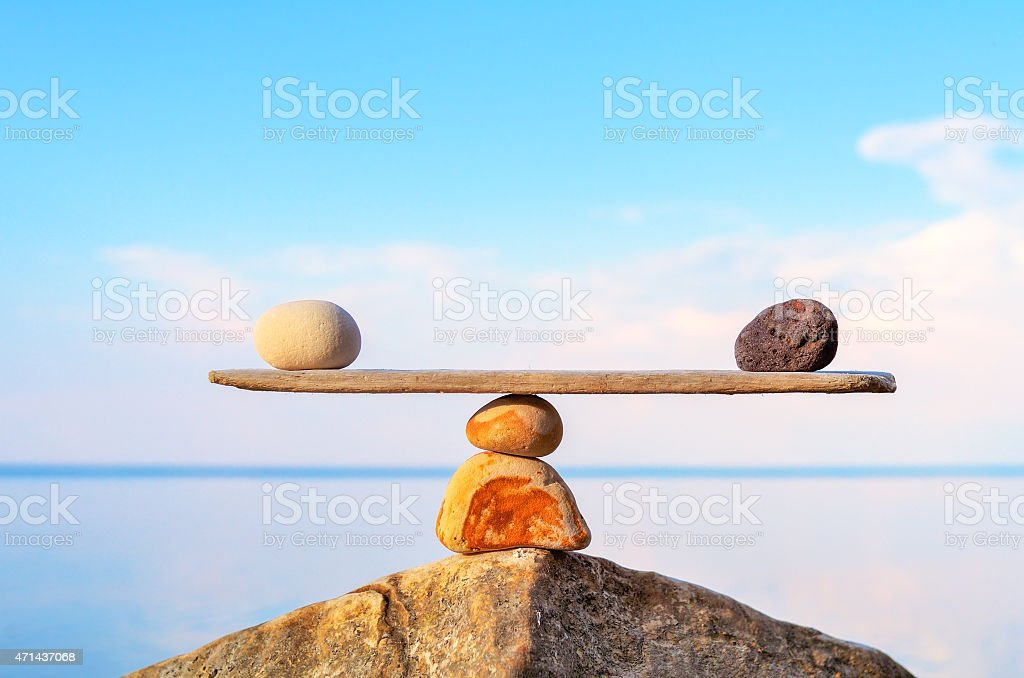 Toehold stock photo