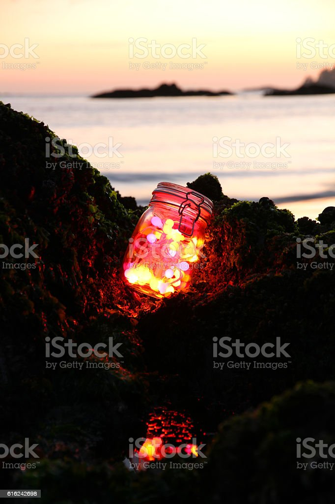 Tofino Glass stock photo