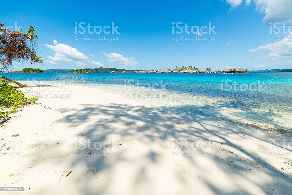 Togean Islands, idyllic retreat stock photo