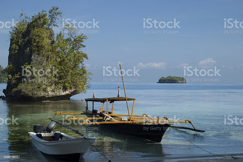 Togean islands Sulawesi Indonesia stock photo