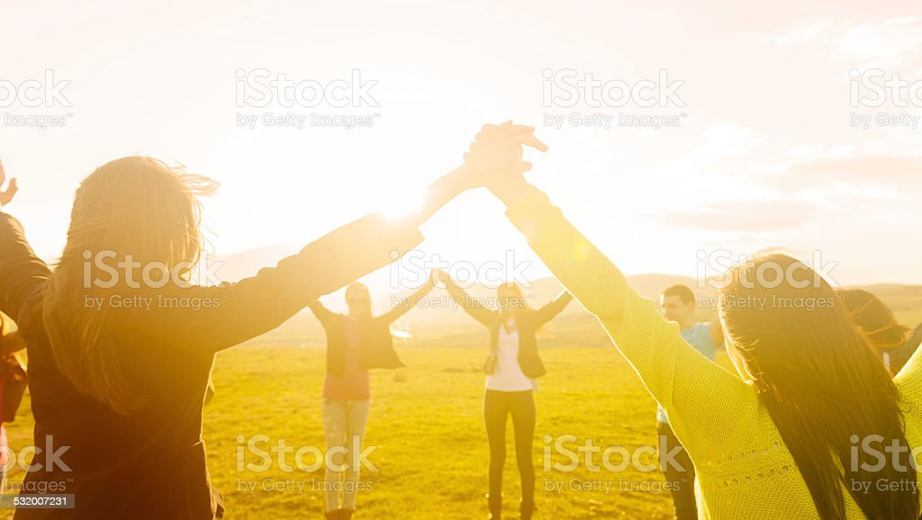 together for ever stock photo