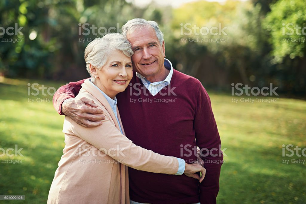 Together forever stock photo