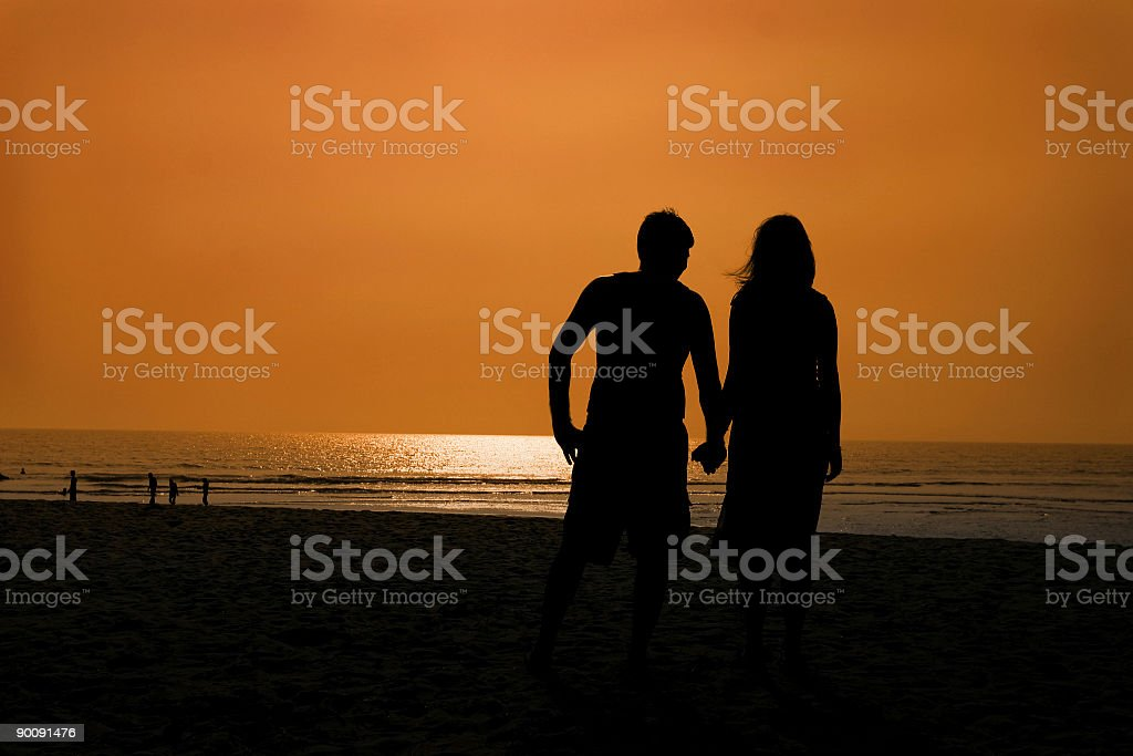 Together Forever royalty-free stock photo