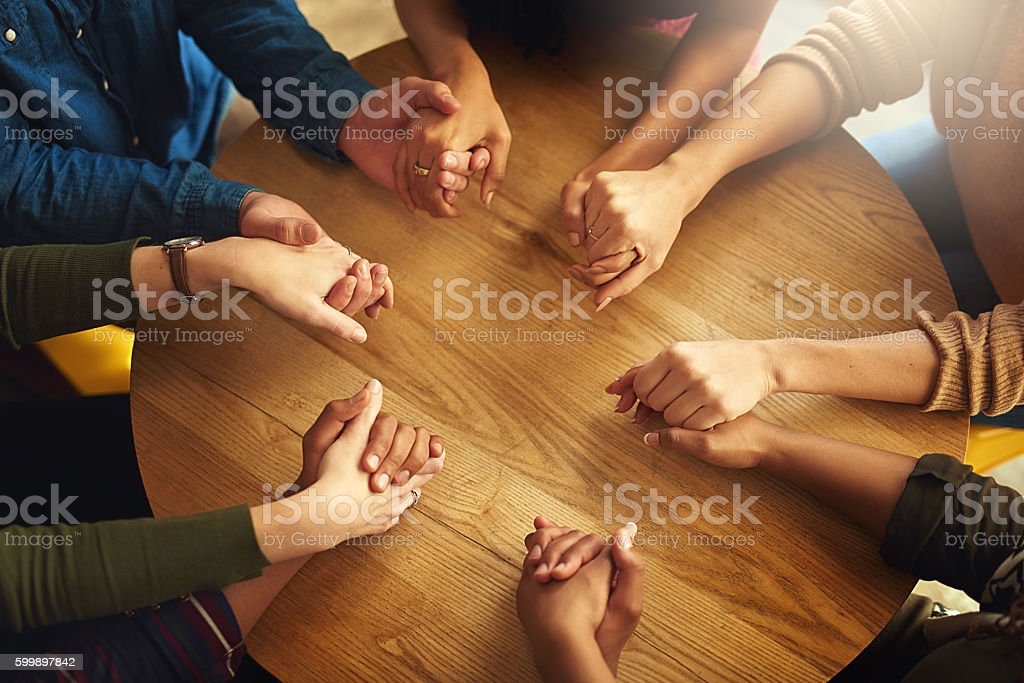 Together in faith stock photo