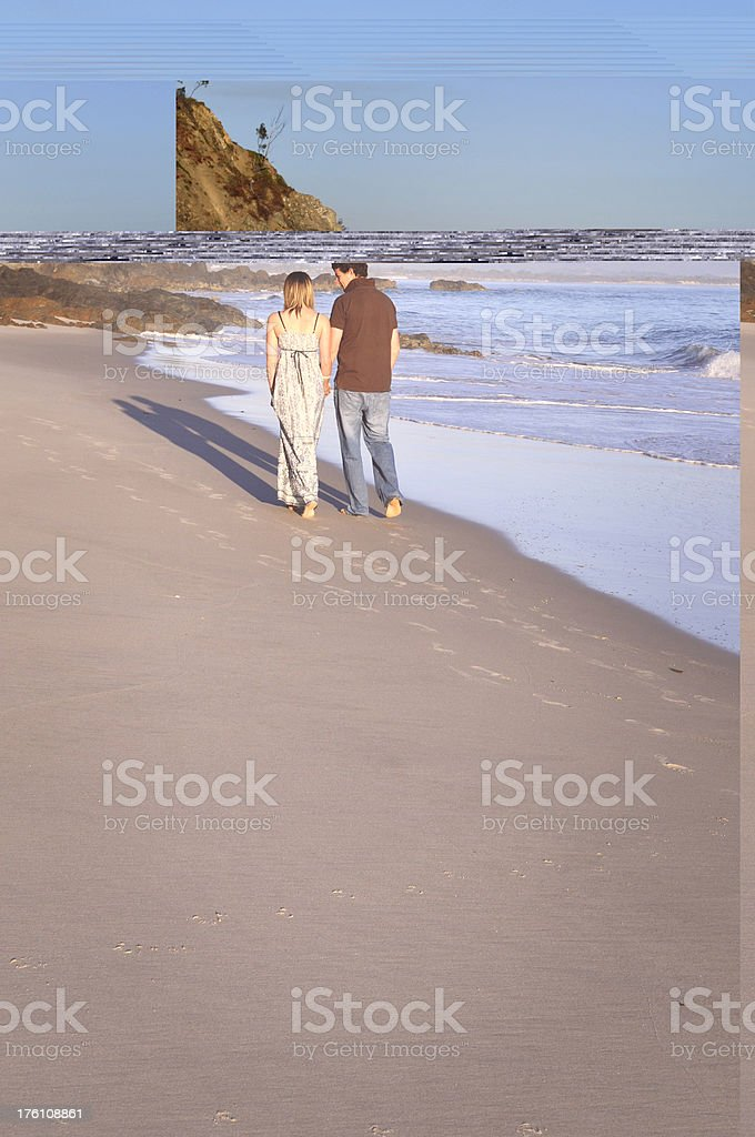 Together on holiday royalty-free stock photo