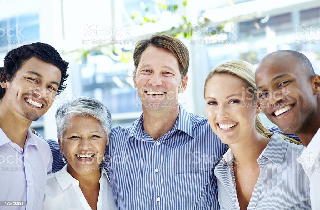 Together we can make a difference royalty-free stock photo