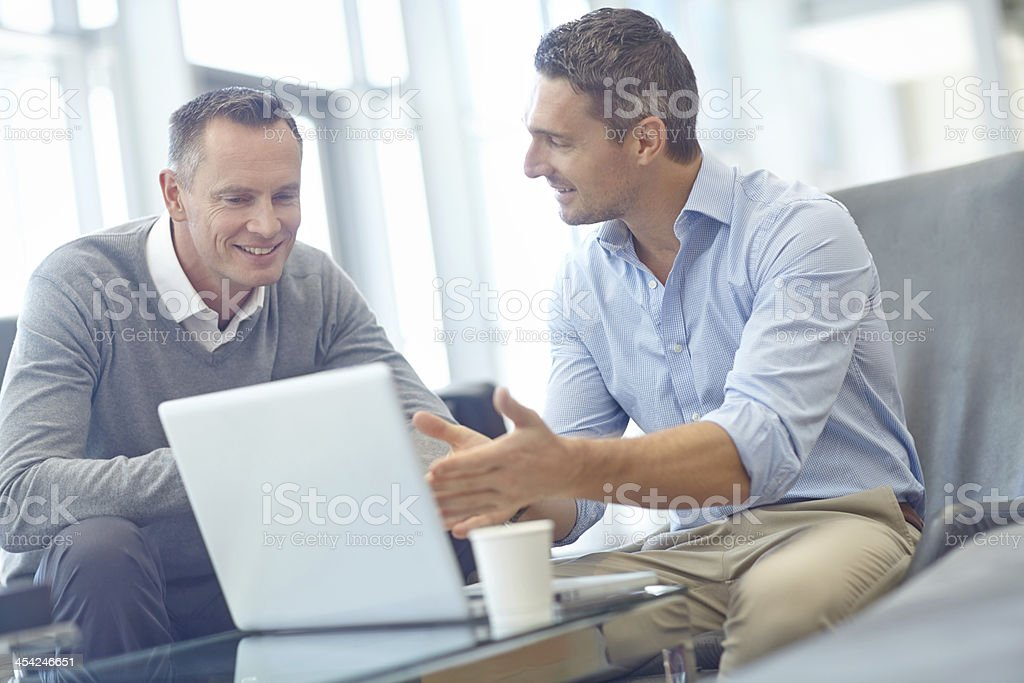 Together we could really make this work! stock photo