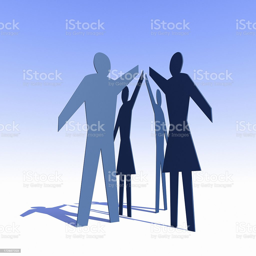 Togetherness XL royalty-free stock photo