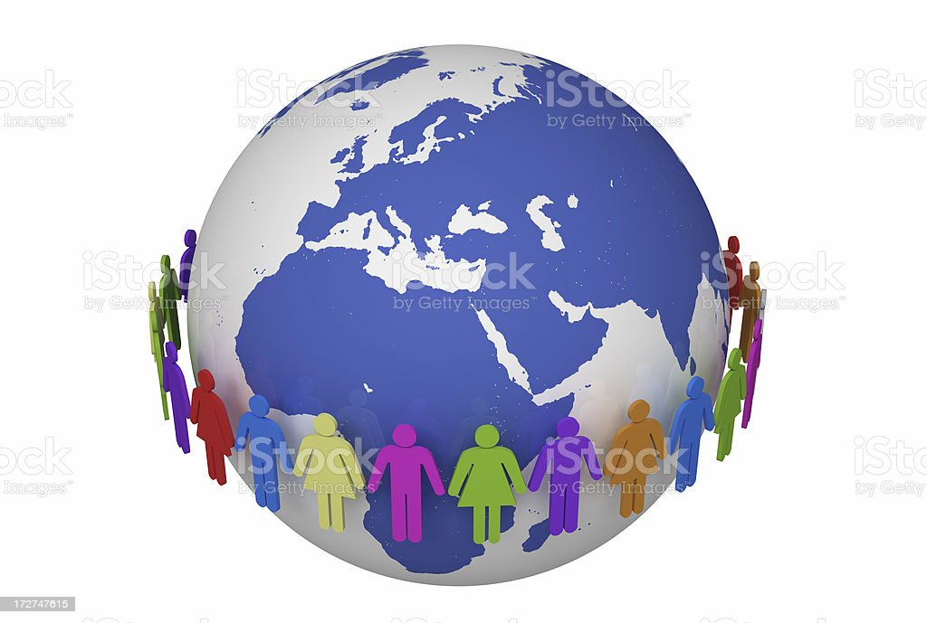 Togetherness / XXL royalty-free stock photo