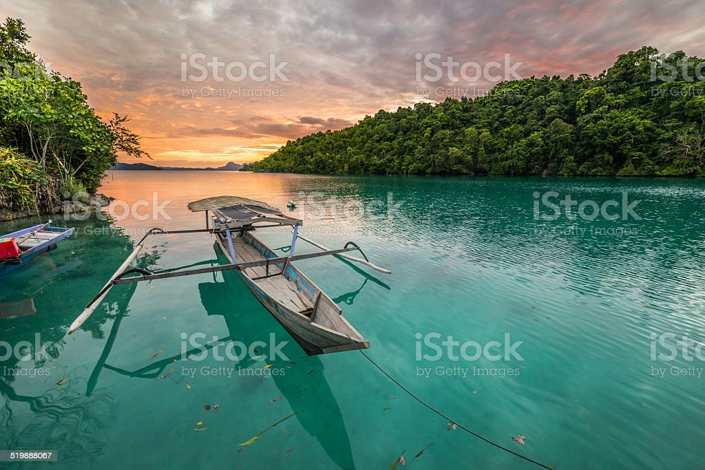 Togian Islands stock photo