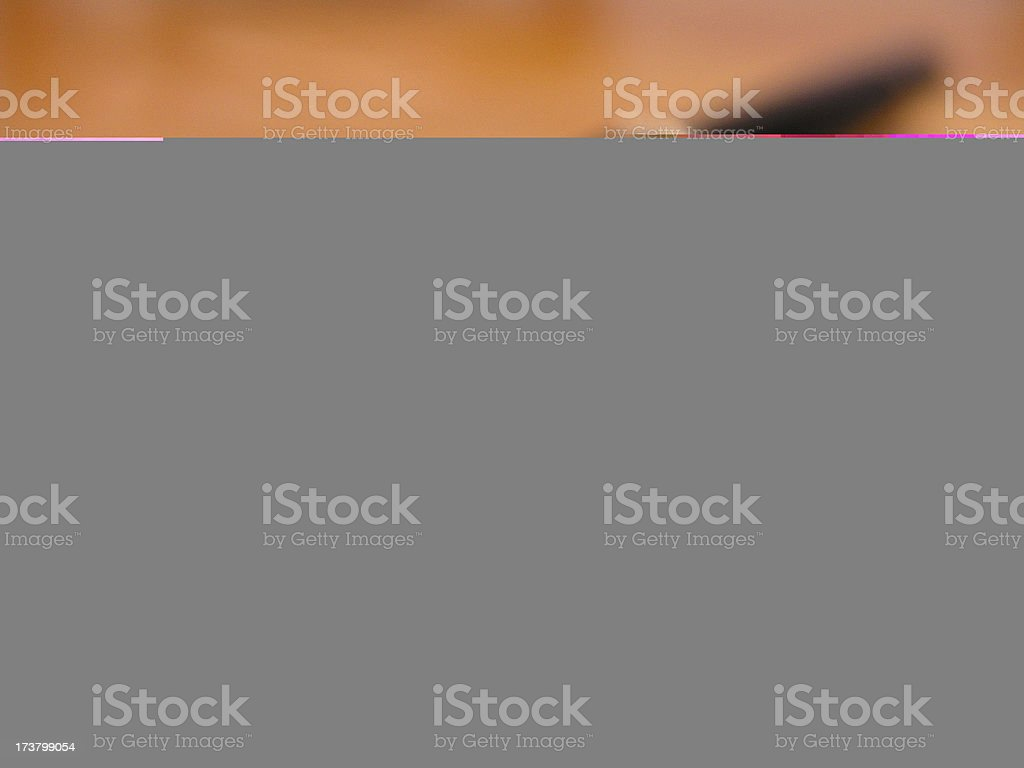 A to-go box with outlines royalty-free stock photo