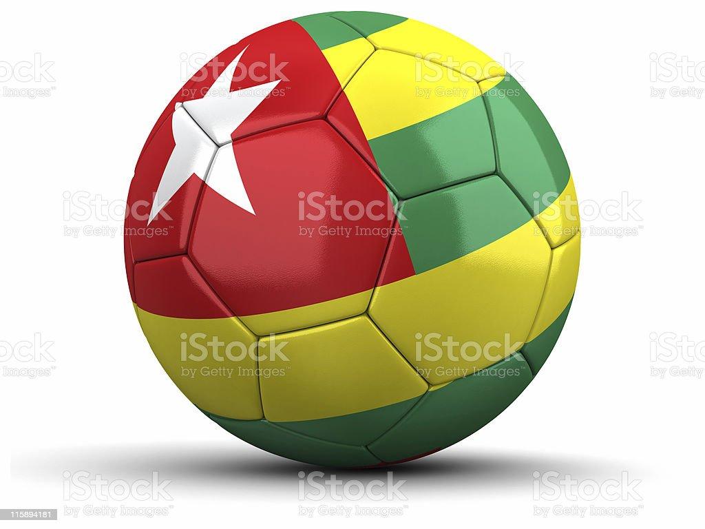 Togo Football royalty-free stock photo