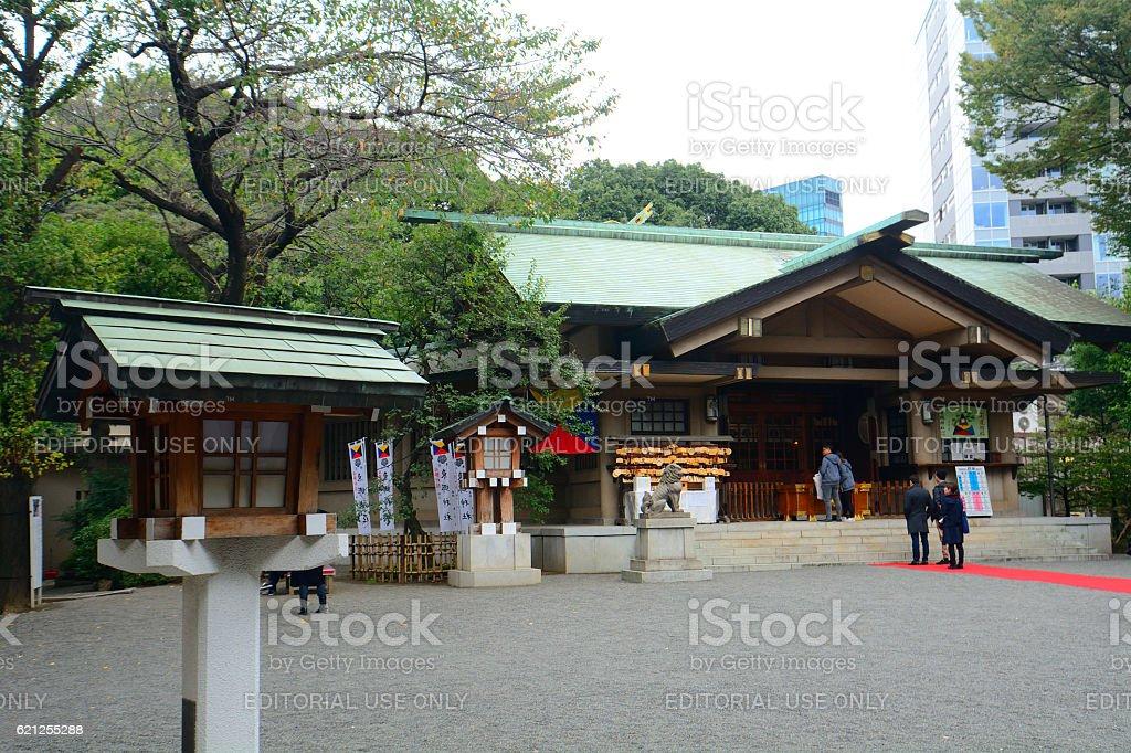 Togo Shinto shrine, Tokyo, Japan stock photo