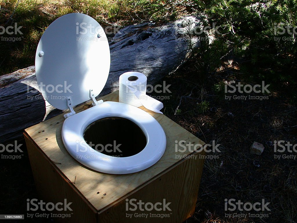 Toilet Creature Comforts stock photo