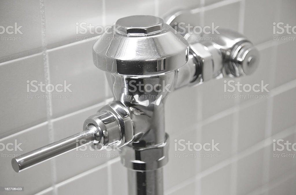 Toilet Flush royalty-free stock photo
