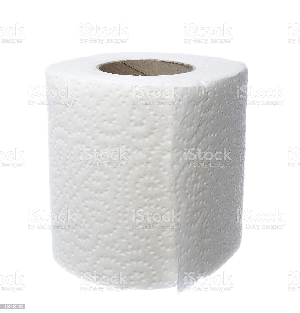toilet paper bathroom supplies hygiene royalty-free stock photo
