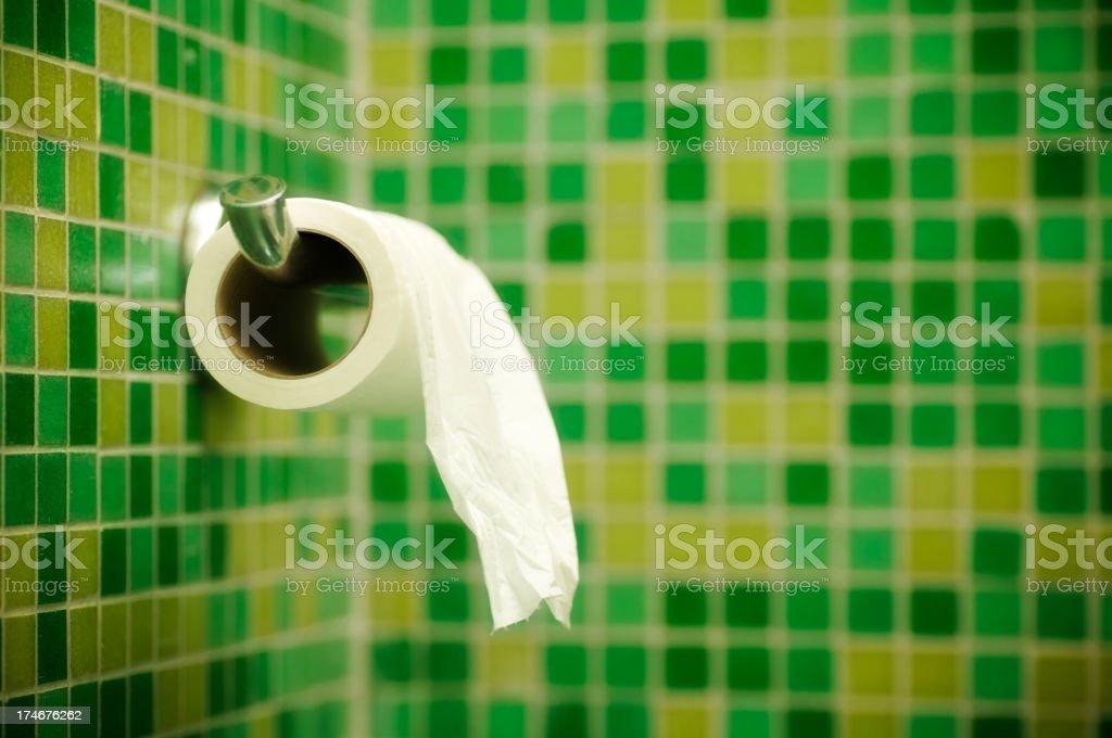 toilet paper royalty-free stock photo