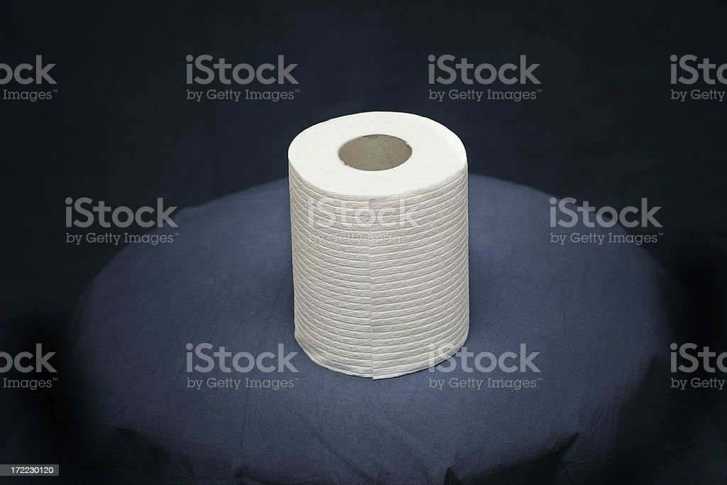 Toilet Paper Roll royalty-free stock photo